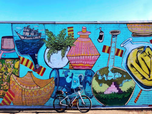 Street Murals by Neil Tomkins seen at Annandale, Annandale - Mural