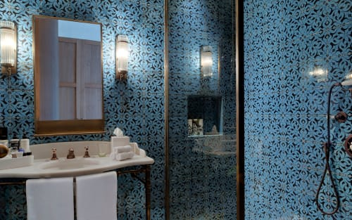 Tiles by Otto Tiles And Design seen at Soho House Istanbul - Soho House Tiles