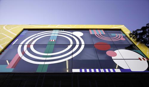 Murals by Renee Rossouw Studio seen at OKHA Design & Interiors, Cape Town - Okha Mural