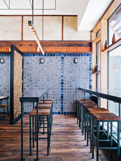Tiles by CRÈME Design seen at Lupulo, New York - Portuguese Ceramic Tile