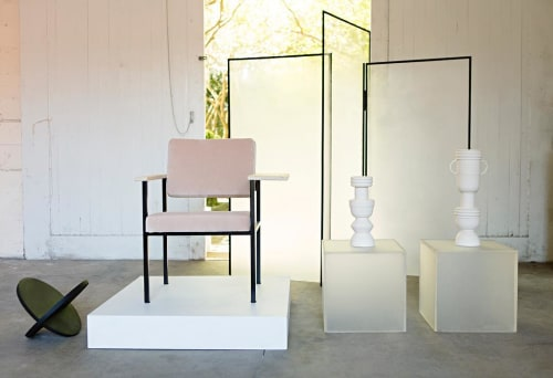 Chairs by Eny Lee Parker seen at Private Residence, Savannah - Twin Chair