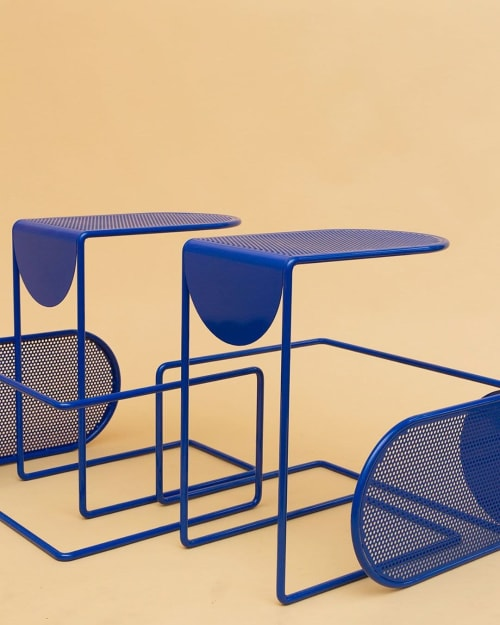 Tables by Amigo Modern seen at Elysium Health, New York - Pop Perf C Table