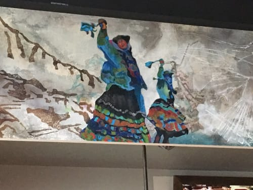 Murals by Letty Samonte seen at Parada, Walnut Creek - Streets of Peru