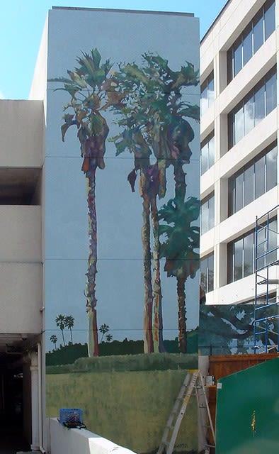 Murals by John Votel seen at Suddath, Jacksonville - Palm Mural
