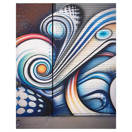 Street Murals by Anna Charney seen at River North Art District, Denver - Mural at RiNo