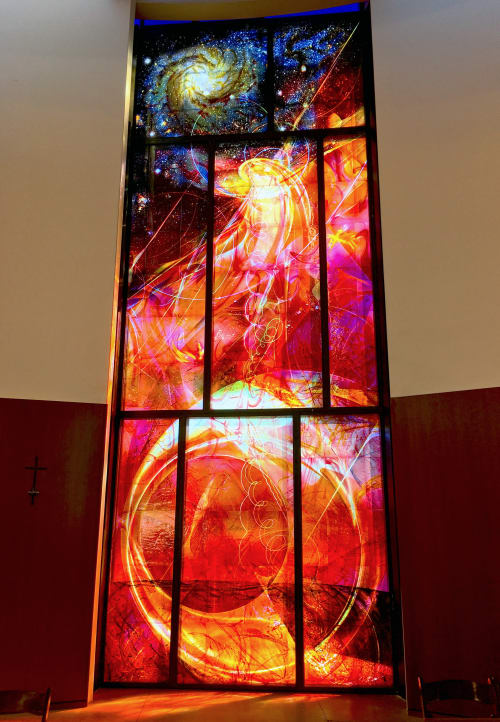 Art & Wall Decor by Scott Parsons seen at Franciscan Renewal Center - Scottsdale, Arizona, Scottsdale - Our Lady of the Angels Conventual Church