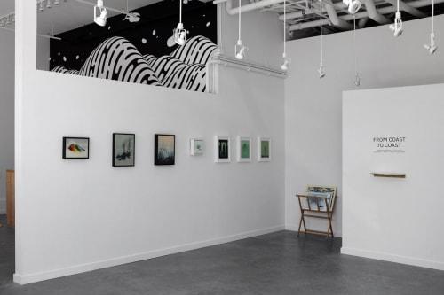 Nucleus Portland, Art Galleries, Interior Design