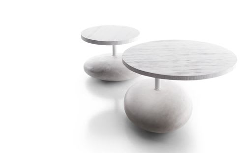 Tables by Enzo Berti seen at Dropbox Headquarters SF, San Francisco - Pave Drink