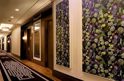 Photography by Lisa Frank Photography seen at The Langham Chicago, Chicago - When Walls Break Away the Sky is Wide Open