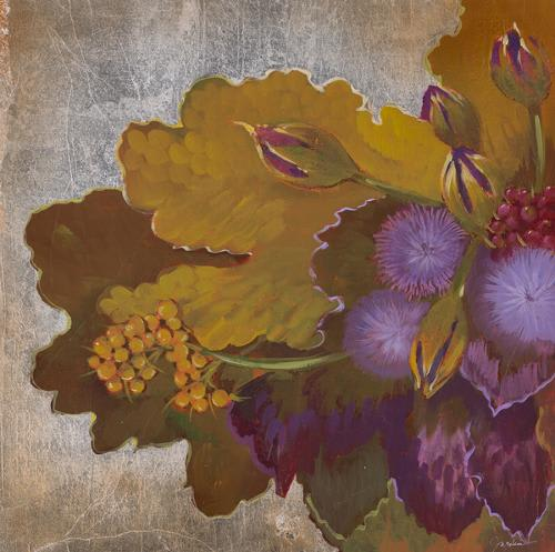 Paintings by Plush Home by Nina Petronzio seen at Montage Beverly Hills, Beverly Hills - Wild Berries Purple