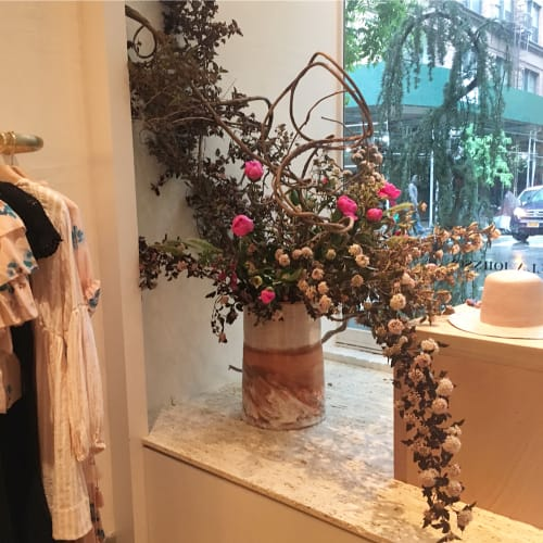 Floral Arrangements by S A I P U A seen at Ulla Johnson, New York - Planters and Floral Arrangements