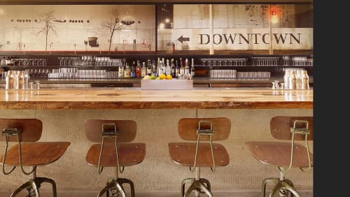 Chairs by Restoration Hardware seen at Bar Agricole, San Francisco - Vintage Toledo Bar Chair