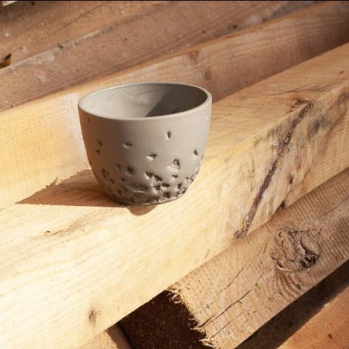 """Cups by Stratus ceramics seen at Private Residence, Warsaw - """"Bowl PRIME 200 