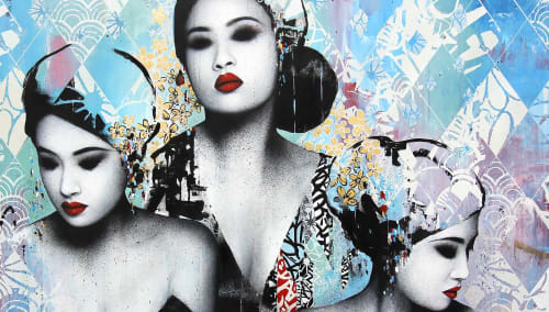 Hush - Murals and Art