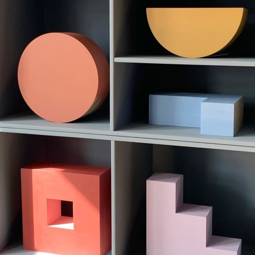 Furniture by Things I Imagined seen at Private Residence, Copenhagen - Prototype Book Shelf