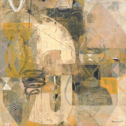 "Paintings by Paula Valenzuela Art seen at Room Art Gallery, Mill Valley - ""The Space in Between"""