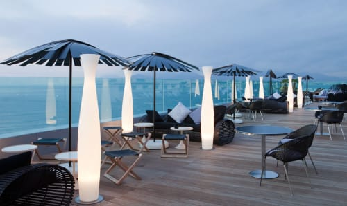 Couches & Sofas by Kenneth Cobonpue at Radisson Blu 1835 Hotel & Thalasso, Cannes, France, Cannes - Lolah Sofa