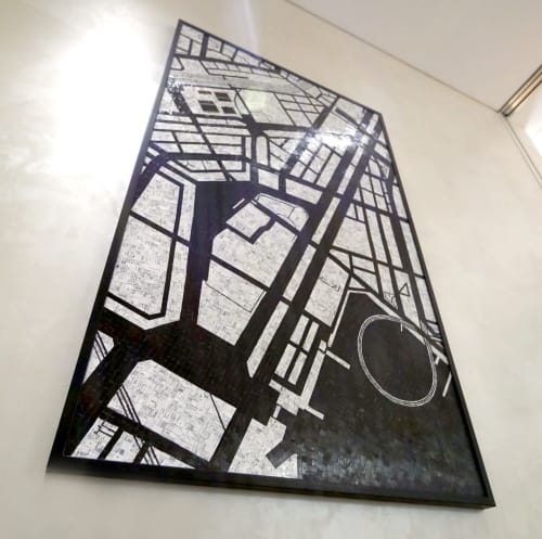 Wall Hangings by Nina Boesch seen at Tokyo, Tokyo - Collage