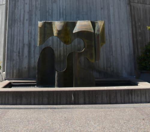 Sculptures by Aristides Demetrios seen at First Unitarian Universalist Church & Center, San Francisco - Interface