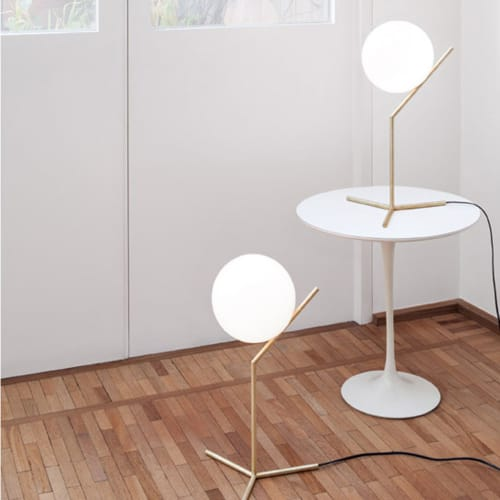 Lighting by Michael Anastassiades seen at The William Vale, Brooklyn - IC Lights T Modern Table Lamp