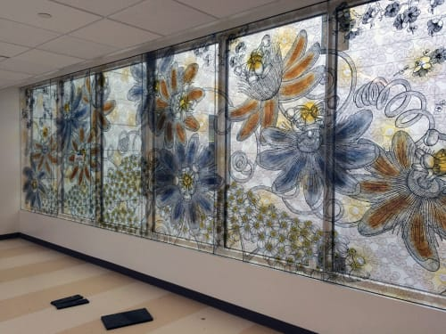 Art & Wall Decor by Nancy Blum seen at Zuckerberg San Francisco General Hospital and Trauma Center, San Francisco - Revival
