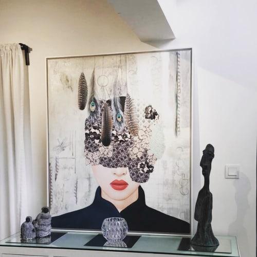 Paintings by Irene Hoff seen at Private Residence - Artwork