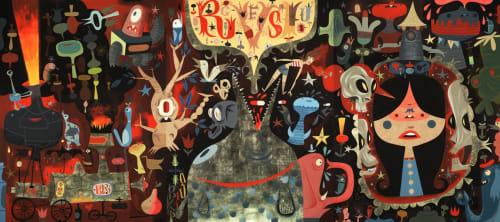 Tim Biskup - Murals and Art