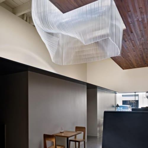 Lighting by Nikolas Weinstein seen at Bar Agricole, San Francisco - Billowing Glass Sculptures