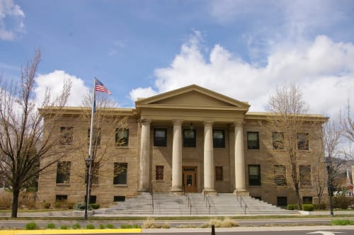 Carson City Courthouse, Offices, Interior Design