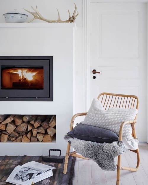 Pillows by Aiayu seen at Private Residence, Copenhagen - Heather Pillow