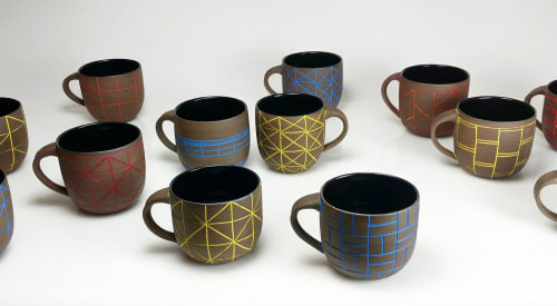Tableware and Vases & Vessels by Hollow Work by Kate Hardy