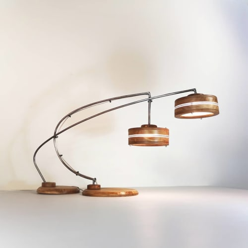 Lamps by Madera Atomica seen at Madrid, Madrid - Desk Lamp