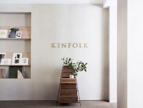 Furniture by Keiji Ashizawa seen at Kinfolk, København - Sutoa