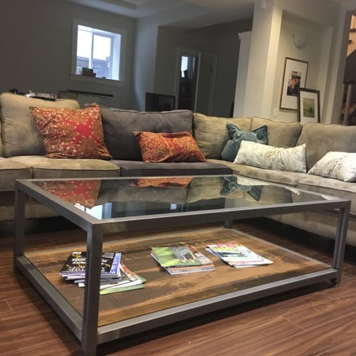 Tables by Caveman Build & Supply Co. seen at Town of Oakville, Oakville - Custom Coffee Table