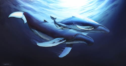 Street Murals and Murals by Wyland