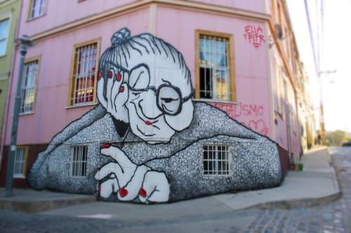 Ella & Pitr - Street Murals and Public Art