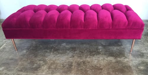 Benches & Ottomans by Foundation by Jennifer Ridel seen at Perry Ellis International Los Angeles, Commerce - Henri