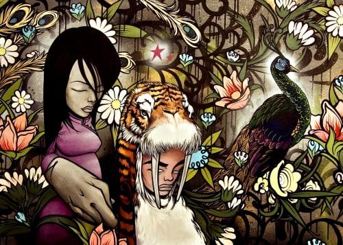 Sam Flores - Murals and Art