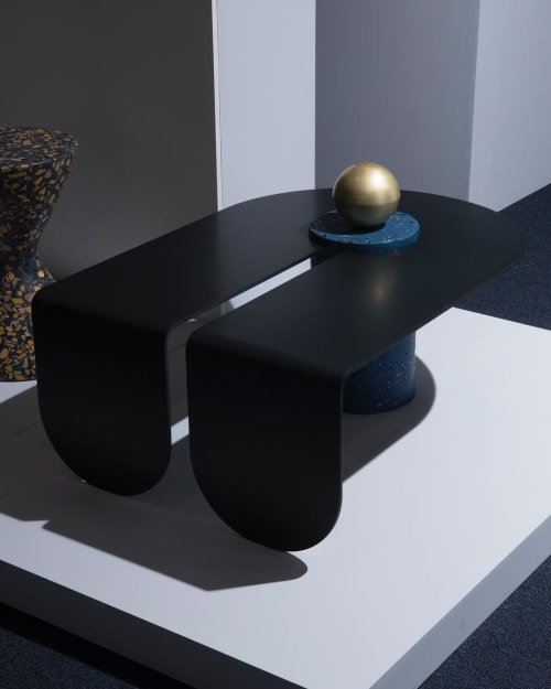Tables by Suna Bonometti seen at Openhouse, New York - U&I Table