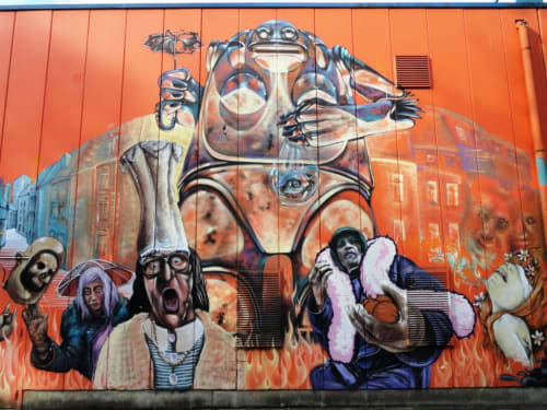 Waf.Alosta - Street Murals and Public Art