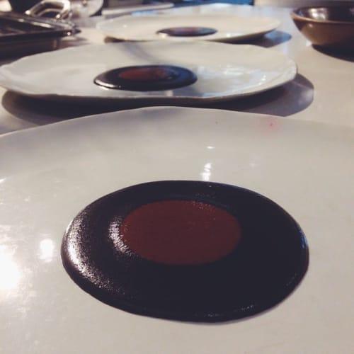 Ceramic Plates by Laura Letinsky seen at Pujol, Ciudad de México - Molosco Plates