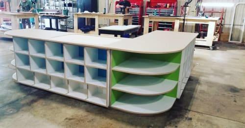 Furniture by MAN+US seen at Man+US Studio, Atlanta, Ga, Atlanta - Custom Cabinet