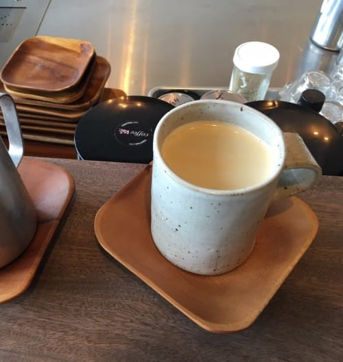 Cups by Len Carella at Wildcraft Espresso Bar, San Francisco - Coffee Mug
