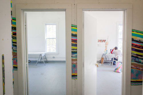 Vermont Studio Center, Public Service Centers, Interior Design