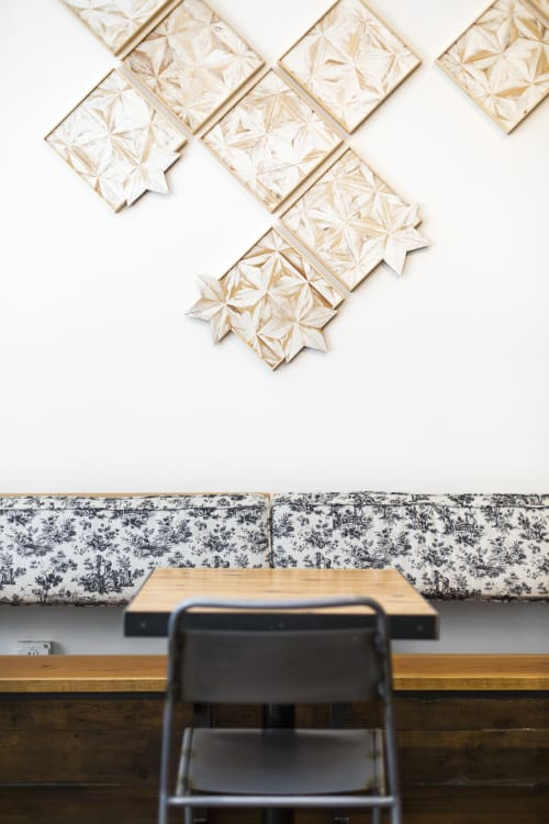 Wall Hangings by Nicole Sweeney at Homage SF, San Francisco - White Tile