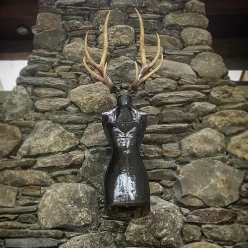 Sculptures by Dave Cole seen at Private Residence, Hudson - Trophy Wife No.7, 2013