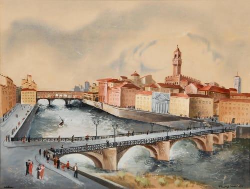 Frede Vidar - Murals and Art