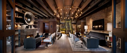 Thompson Chicago, Hotels, Interior Design
