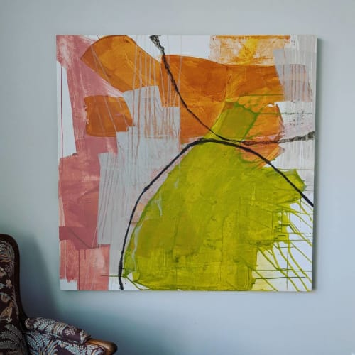 Paintings by Anne Abueva Studio - Loss for Words