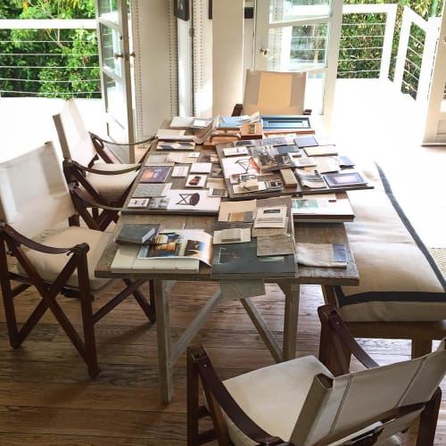 Chairs by Richard Wrightman Design seen at Private Residence, Santa Monica - MacLaren Dining Chairs